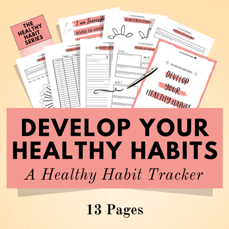 Image of Healthy Habit Tracker Kit