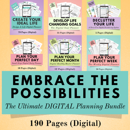 Image of Life Planning DIGITAL Bundle #3 ~ Get 3 FREE Products