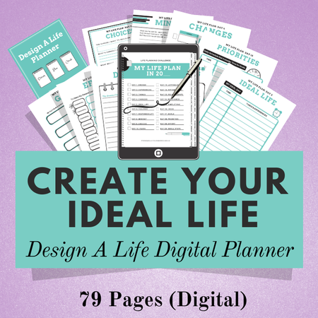 Image of Design A Life Planner - Digital Planner