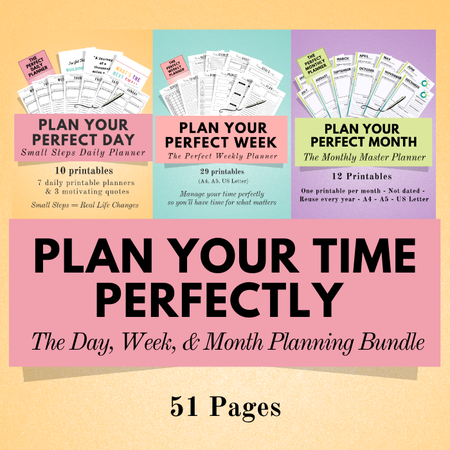 Image of Life Planning Bundle #2 ~ Get 1 FREE Product