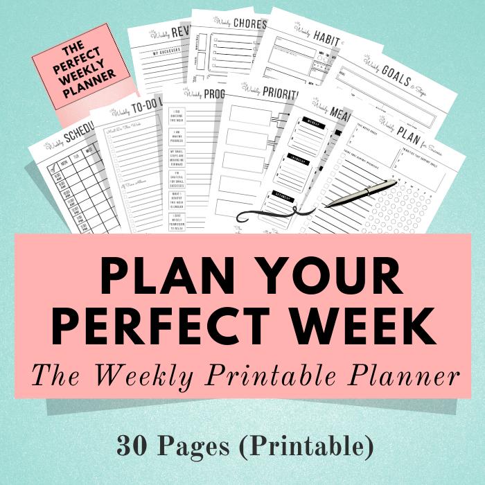 Weekly Planning Bundle ~ Printable Planner-image