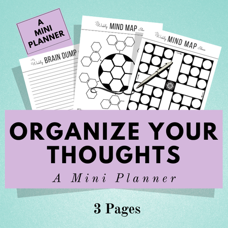 Image of Mini Planner ~ Organize Your Thoughts