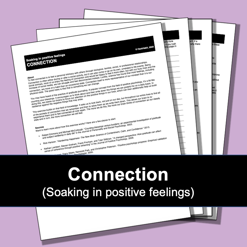 Connection (soaking in positive feelings)-image